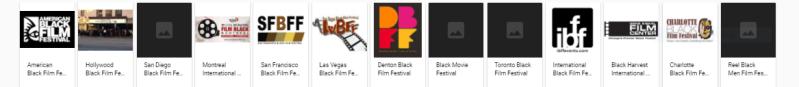 picture of black film festivals