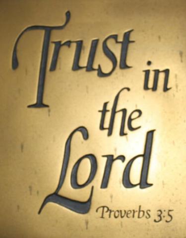 Proverbs 3 verse 5