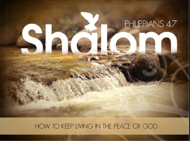 shalom peace of God