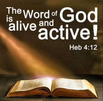the word of God is active