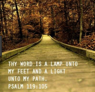 thy word is a lamp unto my feet