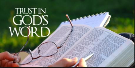 trust God's word