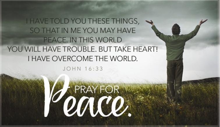 pray for peace