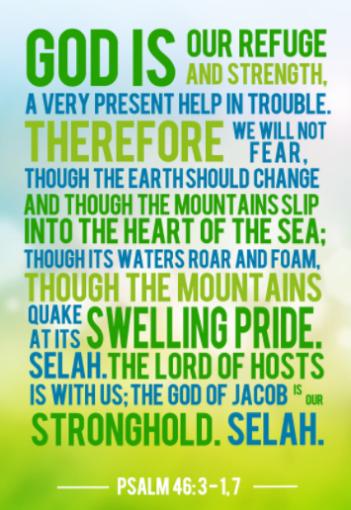 psalms 46 verse 3