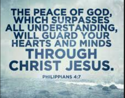 the peace of god that surpasses understanding