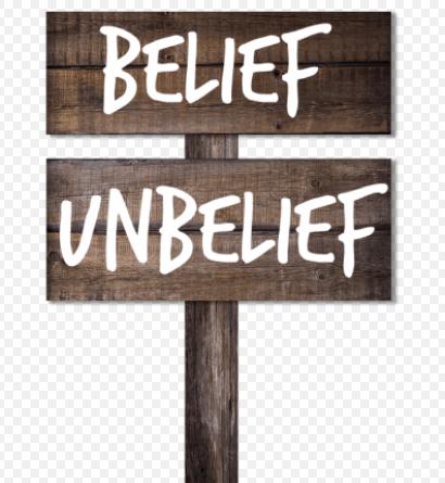 belief unbelief crossroad
