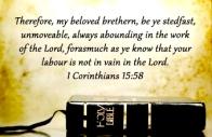 foundation be steadfast