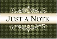 just a note image