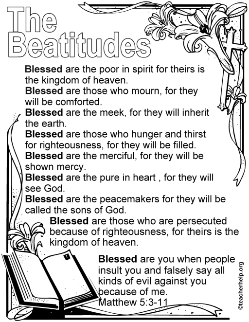 the beatitudes image