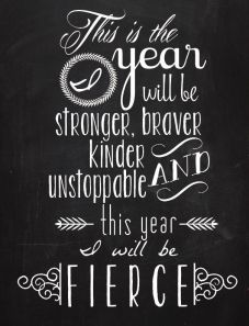 this year i will be fierce image