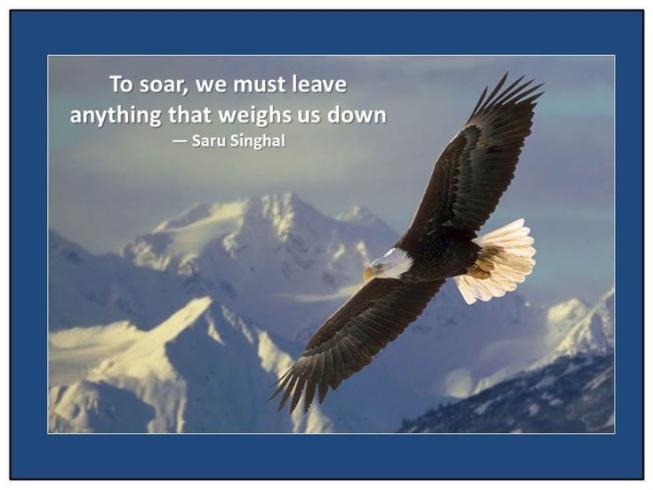 time to soar like an eagle