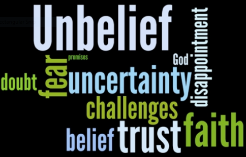 unbelief word variations