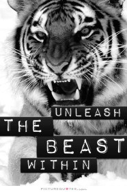 unleash the inner beast