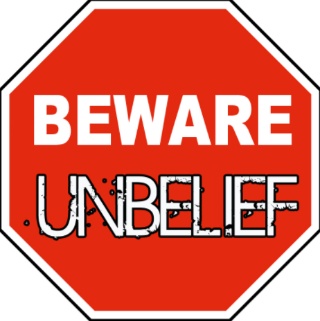 use this Beware Unbelief