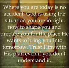 god loves you and you are not an accident