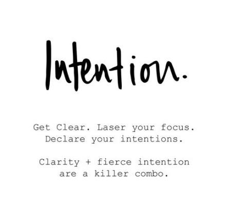intention image