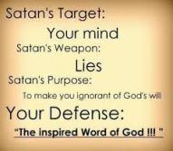 lies satan targets your mind
