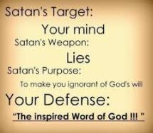 lies satan targets your mind