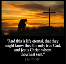 life eternal know God