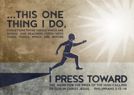press towards the mark scripture