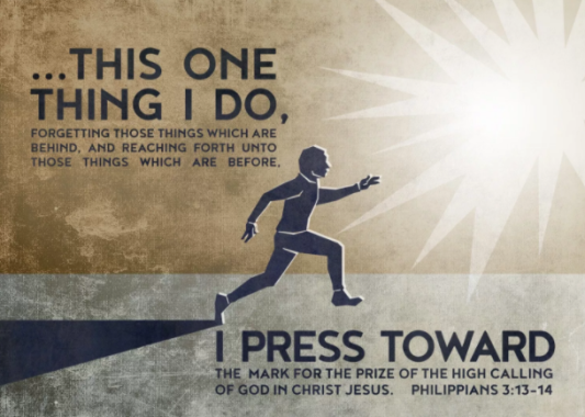press towards the mark scripture