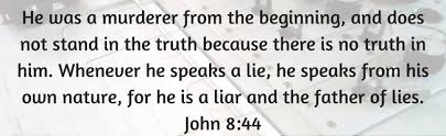satan father of lies john