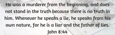 satan father of lies john