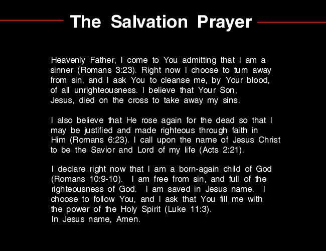 The-Salvation-Prayer