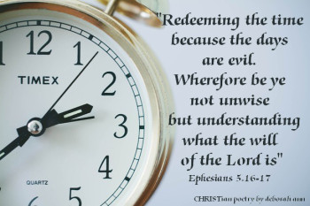 time redeeming-your-time-christian-poetry-by-deborah-ann