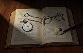 watch on bible with glasses