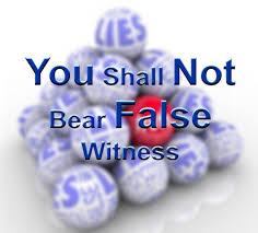 wrath dont bare false witness