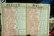 door Heaven and Hell scriptures