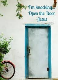 door i am knocking at your door jesus