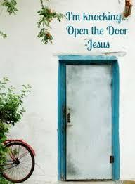 door i am knocking at your door jesus