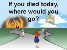 door if you died today where would you go crossroad