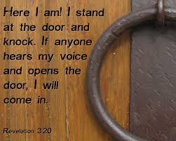 door jesus knocking revelation