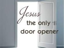 door jesus the only door opener