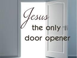 door jesus the only door opener