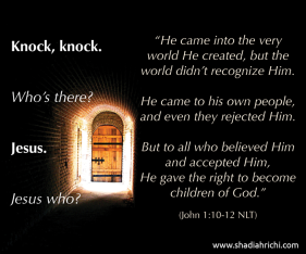 door knock knock who is there jesus-at-door