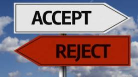 jesus accept or reject