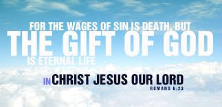 jesus chirsit wages of sin death