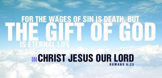 jesus chirsit wages of sin death