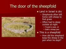 jesus door of sheepfold image