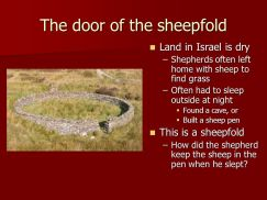 jesus door of sheepfold image