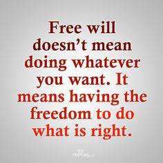 jesus free will image