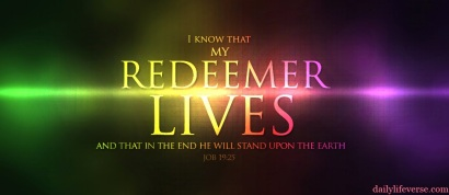 Jesus is the redeemer Job 19