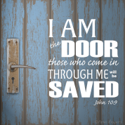 Jesus Saves those who comes in the IAM-theDoor