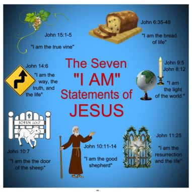 jesus the seven i am of jesus in scripture