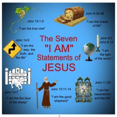 jesus the seven i am of jesus in scripture