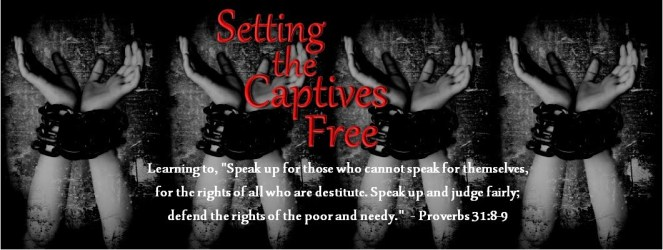 Image result for with god he sets the captive free